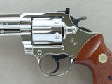 "1980 Colt Trooper Mk.III .22 LR Revolver w/ 8"" Barrel & Nickel Finish** BEAUTIFUL All-Original Example! ** - 3 of 24"