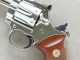 "1980 Colt Trooper Mk.III .22 LR Revolver w/ 8"" Barrel & Nickel Finish** BEAUTIFUL All-Original Example! ** - 24 of 24"
