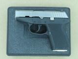 Kel Tec Model P11 Electroless Nickel Two-Tone 9mm Compact Pistol w/ Original Box & Paperwork**SOLD**