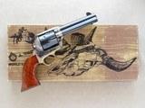 American Arms Inc. /Uberti Single Action Regulator Brass, Cal. .45 LC, 4 3/4 Inch Barrel - 1 of 13