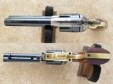 American Arms Inc. /Uberti Single Action Regulator Brass, Cal. .45 LC, 4 3/4 Inch Barrel - 4 of 13