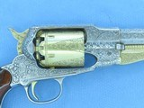 1973 Vintage Factory Engraved & Cased .44 Cal. Navy Arms Remington 1858 New Model Army Revolver w/ Fitted Case & Accessories** UNFIRED & Mint! ** - 12 of 25
