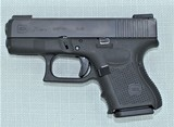 GLOCK 26 GEN 4 WITH NIGHT SIGHTS, 5 MAGS, MATCHING BOX, CLEANING ROD, LOADER AND PAPERWORK - 3 of 15