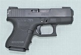 GLOCK 26 GEN 4 WITH NIGHT SIGHTS, 5 MAGS, MATCHING BOX, CLEANING ROD, LOADER AND PAPERWORK - 6 of 15