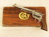 Colt Single Action Army, Cal. .44 Special, 7 1/2 Inch Barrel, Nickel Finished - 1 of 13