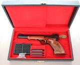 1969 Manufactured Browning Medalist Target Pistol chambered in .22LR SOLD