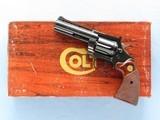 Colt Diamondback, Cal. .22 LR, 4 Inch Barrel, 1978 Vintage