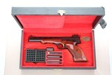 1963 Vintage Browning Medalist Target Pistol chambered in .22LR ** Original Box & Accessories **