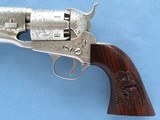 Engraved Signature Series Custer Colt 1861 Army's in Case, Cal. .36 Percussion - 15 of 23