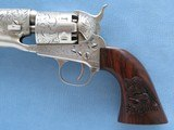 Engraved Signature Series Custer Colt 1861 Army's in Case, Cal. .36 Percussion - 3 of 23