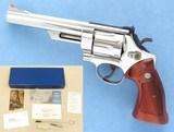 Smith & Wesson Model 57, Cal. .41 Magnum, 6 Inch Barrel, 1980 Vintage**SOLD**