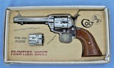 COLT FRONTIER SCOUT .22LR/.22 MAG WITH BOX MANUFACTURED IN 1966**SOLD**