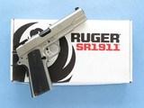 Ruger SR 1911, Cal. 10mm**SOLD**