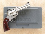 Ruger New Model Blackhawk Flat Top, Bisley Grip, Stainless, Cal. .44 Special, 4 5/8 Inch Barrel