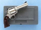 Ruger Super Blackhawk, Bisley Grip Frame, Cal. .454 Casull / .45 Long Colt, 4 5/8 Inch Barrel - 11 of 14