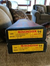 pair of winchester 94 classics carbine and rifle