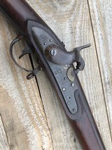 1816 Springfield Conversion Musket 80%+ Brown Lacquer Finish.