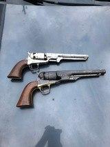 1851 Colt Navy USN Marked. - 2 of 7