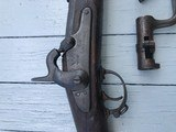 1861 Dated Springfield Musket with Bayonet. Very Desirable - 3 of 10