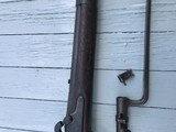 1861 Dated Springfield Musket with Bayonet. Very Desirable - 4 of 10
