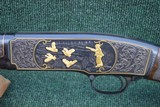 Winchester Model 42 Engraved / Gold game scences