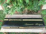"BNIB 1972 Browning ""Sweet Sixteen"" with 27"" & 25"" Vent Rib Barrels in New Browning Avis Case."