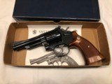 """1977 Smith & Wesson 19-4 """"Combat Magnum"""" in .357 with Box/Manual."""