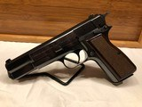 1992 Browning Hi-Power Pistol 9mm, Case & Manual.