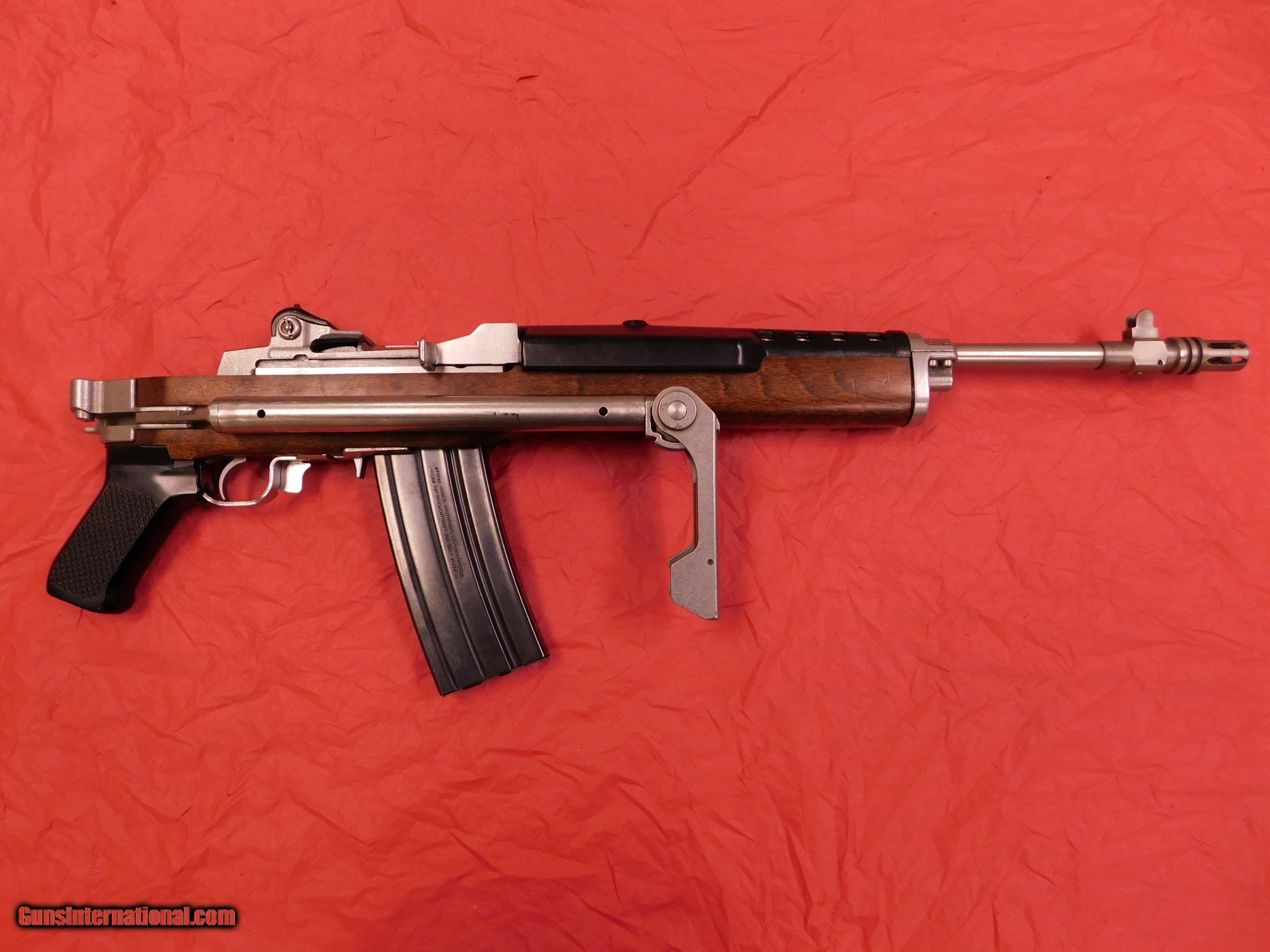 ruger mini 14 GB stainless folding stock