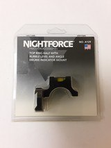 NIGHT FORCE TOP RING BUBBLE LEVEL AND ANGLE MOUNT A129