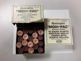 REMINGTON MODI-PAC 12GA PLASTIC PELLETS SHOTGUN SHELLS - 1 of 2