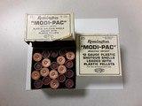 REMINGTON MODI-PAC 12GA PLASTIC PELLETS SHOTGUN SHELLS - 2 of 2