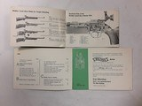 WALTHER ARMS CATALOG DATED 1963 & SMALL-BORE RIFLE INSTRUCTION MANUAL - 3 of 4