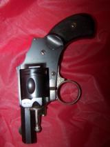 BELGIUM Ring-trigger revolver.32 RFAntique circa 1880