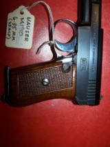 MAUSER model M19106.35 mm semi-autoMilitary marked. MINTY - 8 of 13