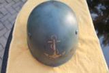 Original WWII Italian Navy Helmet - 1 of 4