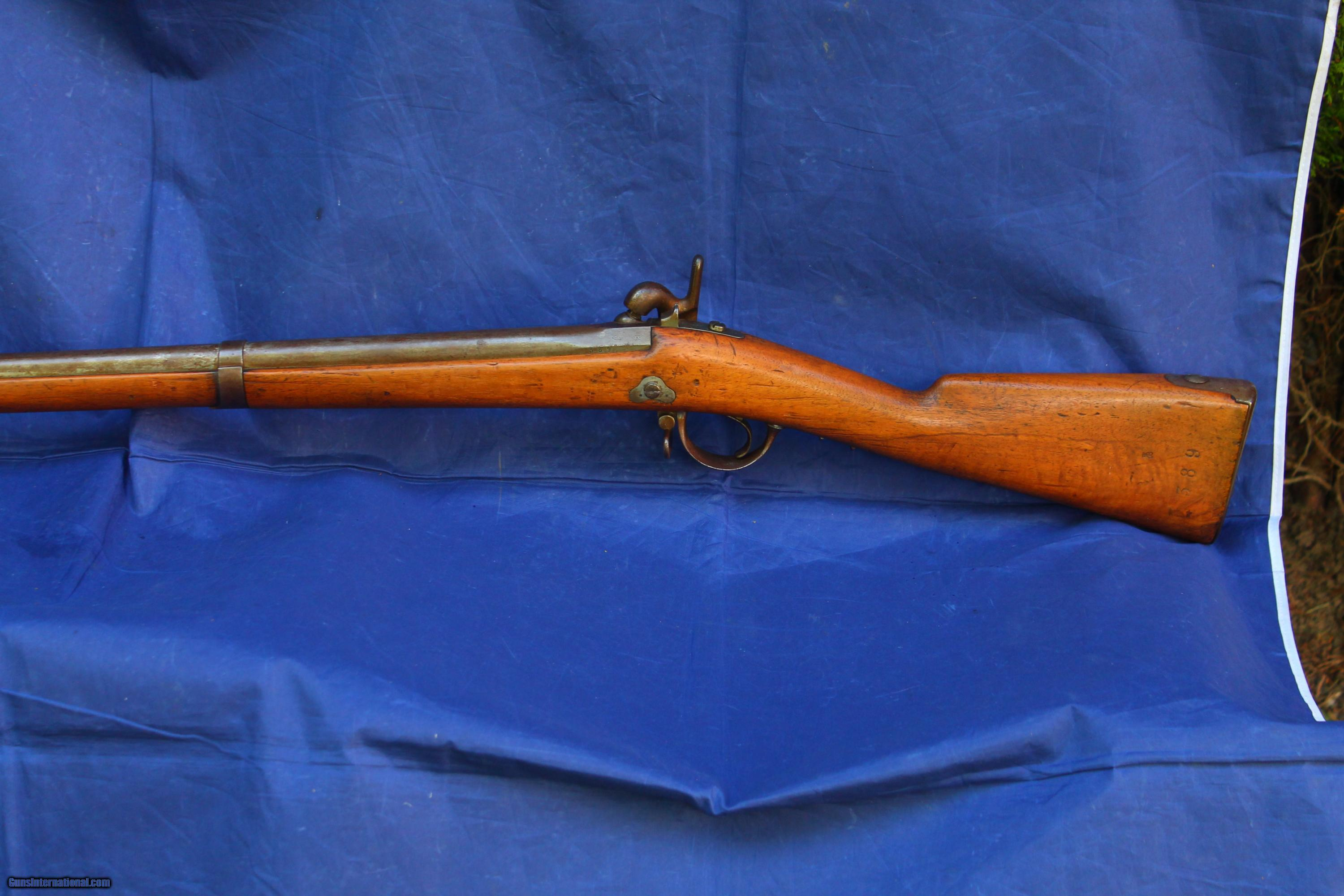 Original Antique French Percussion Musket Model 1842 Mre