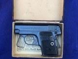 LNIB Colt Pocket Pistol Model 1908 .25 ACP 1924