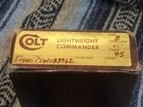 LNIB Colt Commander .45 ACP 1978 - 10 of 10
