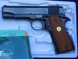 LNIB Colt Commander .45 ACP 1978