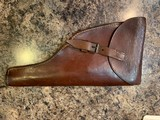 Original Commercial Holster for Mauser C-96 Broomhandle or Reichsrevolver - 1 of 3