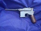 Original Mauser C-96 M1930 Broomhandle C96
