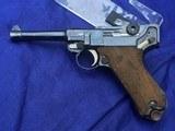 Original WWI German Erfurt Luger 1916