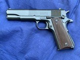 Original Colt 1911A1 WW2 Remington Rand British Lend Lease