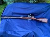 Original WW2 Russian Mosin Nagant Sniper Rifle Izhevsk 1943 Early CAI Import