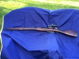 Original WW2 Russian Mosin Nagant Sniper Rifle Tula 1943