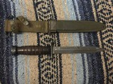 Original WW2 Imperial M4 Bayonet for M1 Carbine with M8 Scabbard