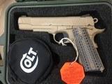 NIB Rare Colt 1911A1 *USMC* Rollmark CQBP in Pelican Case