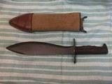 Original WWI Bolo Knife US Model 1917 Plumb Phila. dated 1918 - 2 of 5