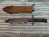 Original WWI Bolo Knife US Model 1917 Plumb Phila. dated 1918